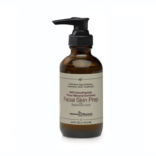 Janson Beckett Peptide Facial Skin Prep with Trace Minerals 4oz