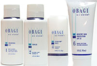 Obagi NuDerm System Contains 4 Products Foaming Gel 6.7oz, Toner